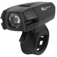 Sprednja svetilka XPG400 LED/6f USB, 400lm, Črna