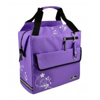 Torba za prtljažnik LONGUS PANNIER, vijolična