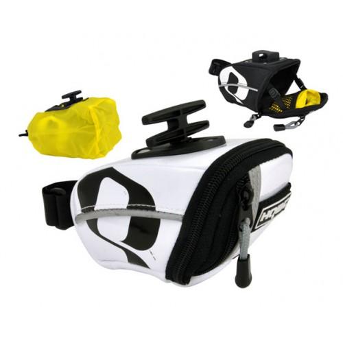 Podsedežna torbica HQBC QR XS, bela