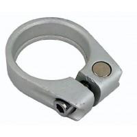 Sedežna objemka LONGUS CLAMP 31,8 mm, srebrna