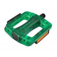 Pedala LONGUS MTB/BMX PC, zelena