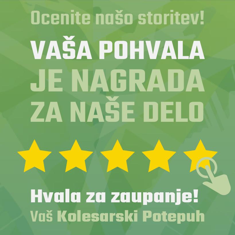 pohvale, mnenja, ocena, pet zvezdic, review, hvala za zaupanje